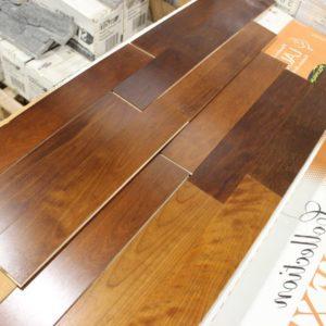 Engineered – Betula – Mill Run – 3 1/4 x 1/2″ – Golden Walnut – Semi Gloss