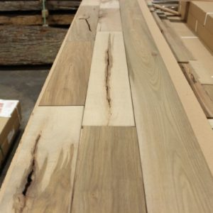 "Hardwood – Maple – Colonial – ""Ultra Rustic"" 4 1/4 x 3/4″ -Barn – Oiled"