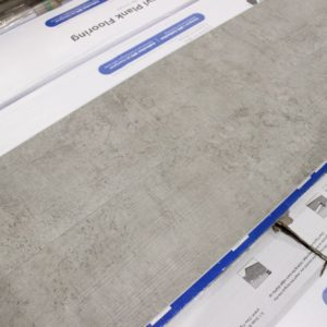 SPC Vinyl – 6 Wide x 38 Inch Long x 7mm Thick with Membrane – SPC209