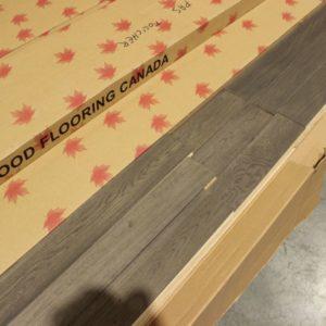 Hardwood – Red Oak – Select – 3 1/2 x 3/4 – Smoke Parchment – Matt