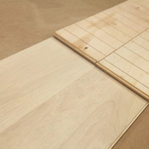 Engineered – American Oak – Special – 7 1/2 x 3/4″ – Snow White -Wire Brushed