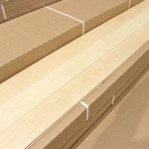 Hardwood – Maple – Select – 3 1/4 x 3/4″ – Natural – Matte