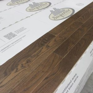 """Hardwood – Ash – Premier – 2 1/4"""" x 3/4"""" – Grizzly – Wire Brushed"""