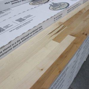 Hardwood – Maple – Select – 2 1/4 x 3/4″ – Natural – Low Sheen