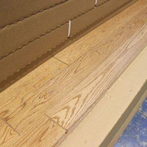 Hardwood – Red Oak – Select – 3 1/4 x 3/4″ – Latté – Brushed Matte