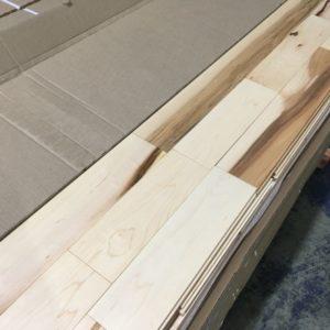 Hardwood – Maple – Rural – 3 1/4 x 3/4″ – Natural – Matte