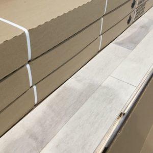 Hardwood – Maple – Builder – 4 1/4 x 3/4 – Cream – Matte