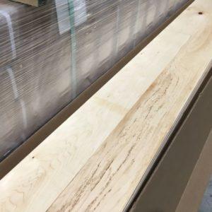 Hardwood – Maple – Builder – 4 1/4 x 3/4 – Natural – Matte