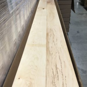 Hardwood – Maple – Builder – 4 1/4 x 3/4 – Natural – Matte
