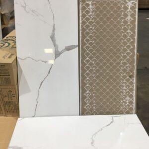 Porcelain – Rectified – 12 x 24 x 3/8″ – Itile – Verona White – Polished