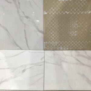 Porcelain – Rectified – 24 x 24 x 1/2″ – Navarti – Recer Bianco – Matte