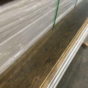 Engineered – Euro Oak – Premium – 5/8  x 7 1/2″ – Brushed Dark Brown Lacquer
