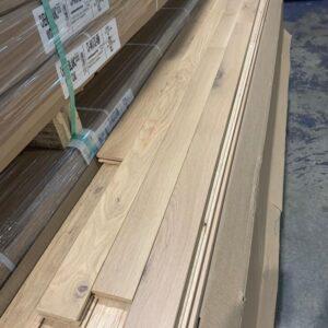 Hardwood – White Oak – White Oak 2 1/4, 3/4 Authentic Nebula Mat Finish