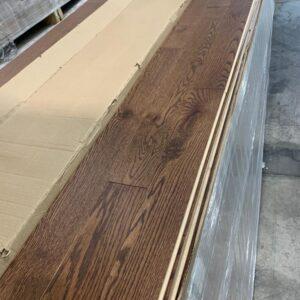 Engineered – Oak – Red Oak Engineered 3 1/4, 14mm, Med Bronze Brown , Pac, regular