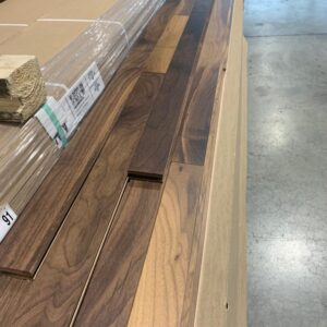 Hardwood – American Walnut 2 1/4, 3/4 , Natural, Mat Finish