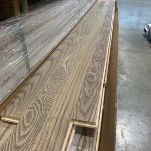 Hardwood – Ash 2 1/4, 3/4 Fog Select , Brushed , Finish