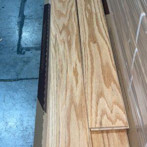 Hardwood – Red Oak – Millrun – 4 1/4 x 3/4 – Natural