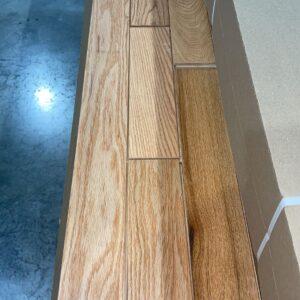 Hardwood – Red Oak – Millrun – 3 1/4 x 3/4 – Natural