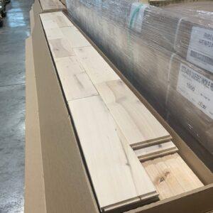 Hardwood – Maple – Maple 4 Inch 3/4 – Rustic – Barewood Mat
