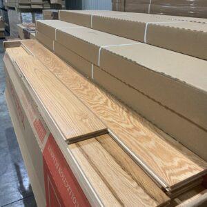Hardwood – Oak – Oak 5, 3/4 Millrun Natural Mat, Plancher Marteau