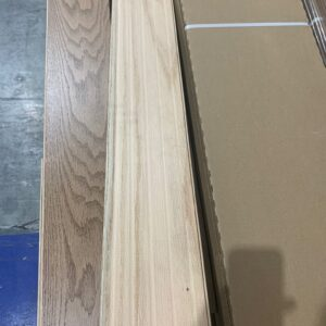 Hardwood – Red Oak – 5 inch x 3/4″ – Millrun Latte- Brushed Finish, Plancher Marteau