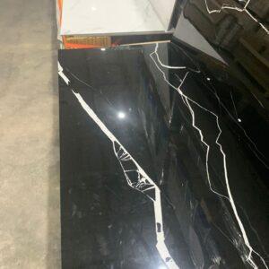Porcelain –  24 x 48- Polished Spider Black Rectified
