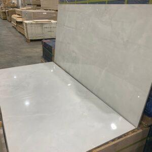 Porcelain –  24 x 48 –  Onyx White – Polished Rectified