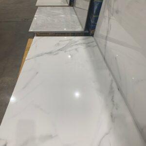Porcelain –  24 x 48 –  Polished Rectified Staviaro Bianco