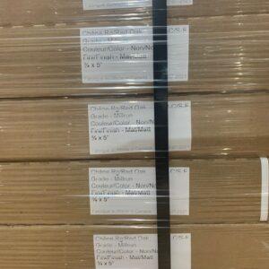 Hardwood – Oak – 5, 3/4 Millrun Natural Mat plancher marteau