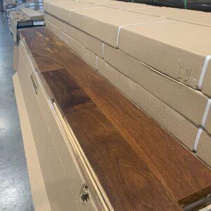 Hardwood – Brazilian Sucupira 5 inch, Natural 3/4, Mat Finish